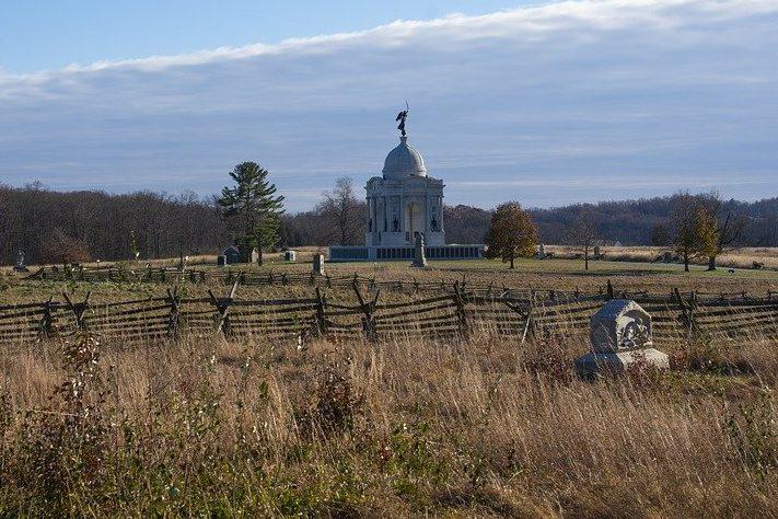 Gettysburg Battlefield - National register of historic places