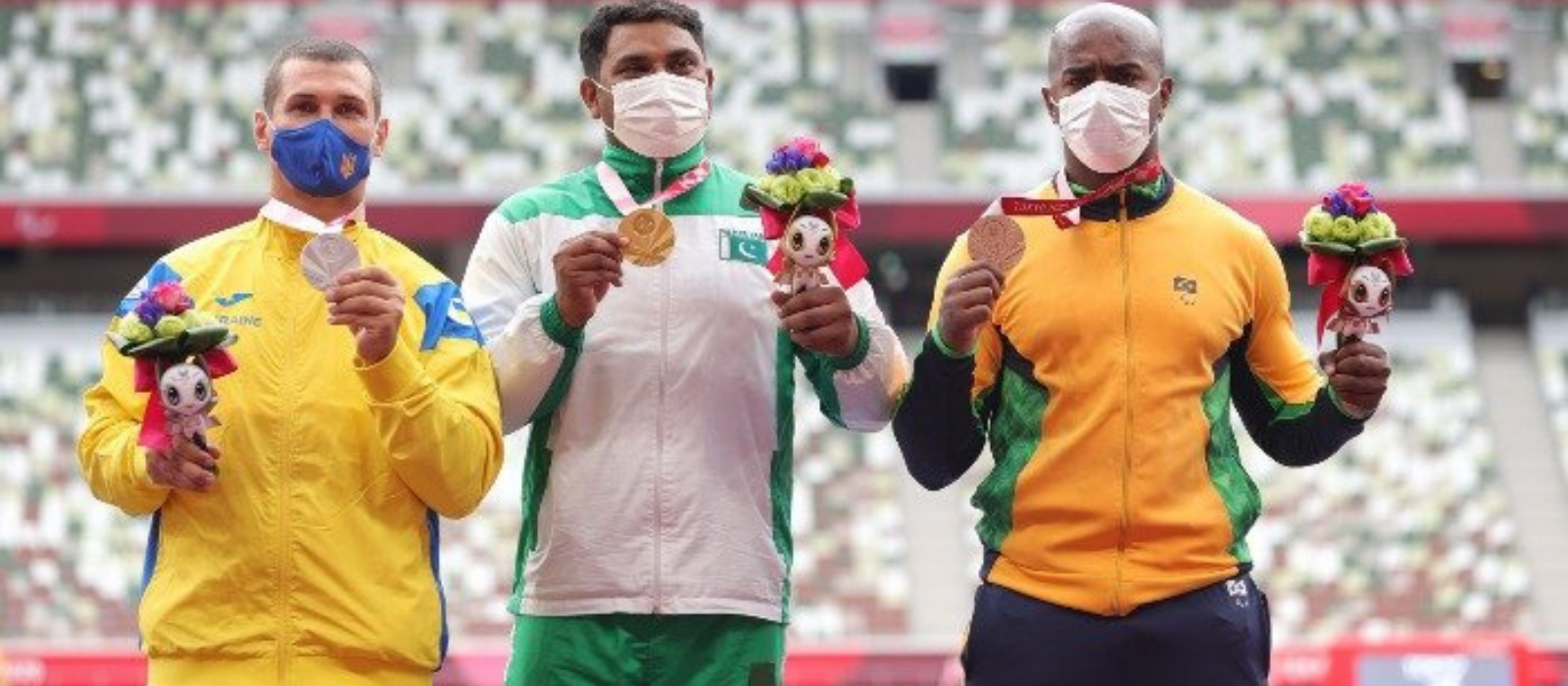 Haider Ali for Pakistan Won the Gold Medal